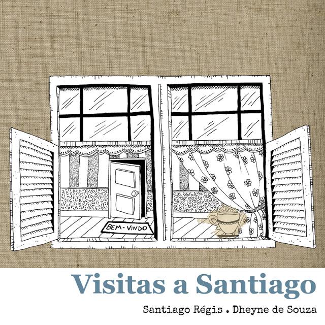 Capa Visitas a Santiago